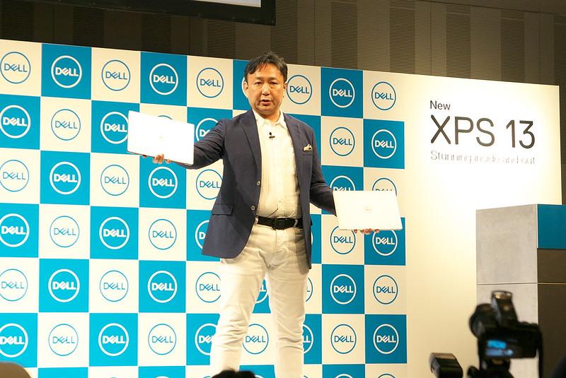 DELL 新XPS13発表会