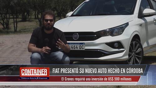 Presentación del Fiat Cronos