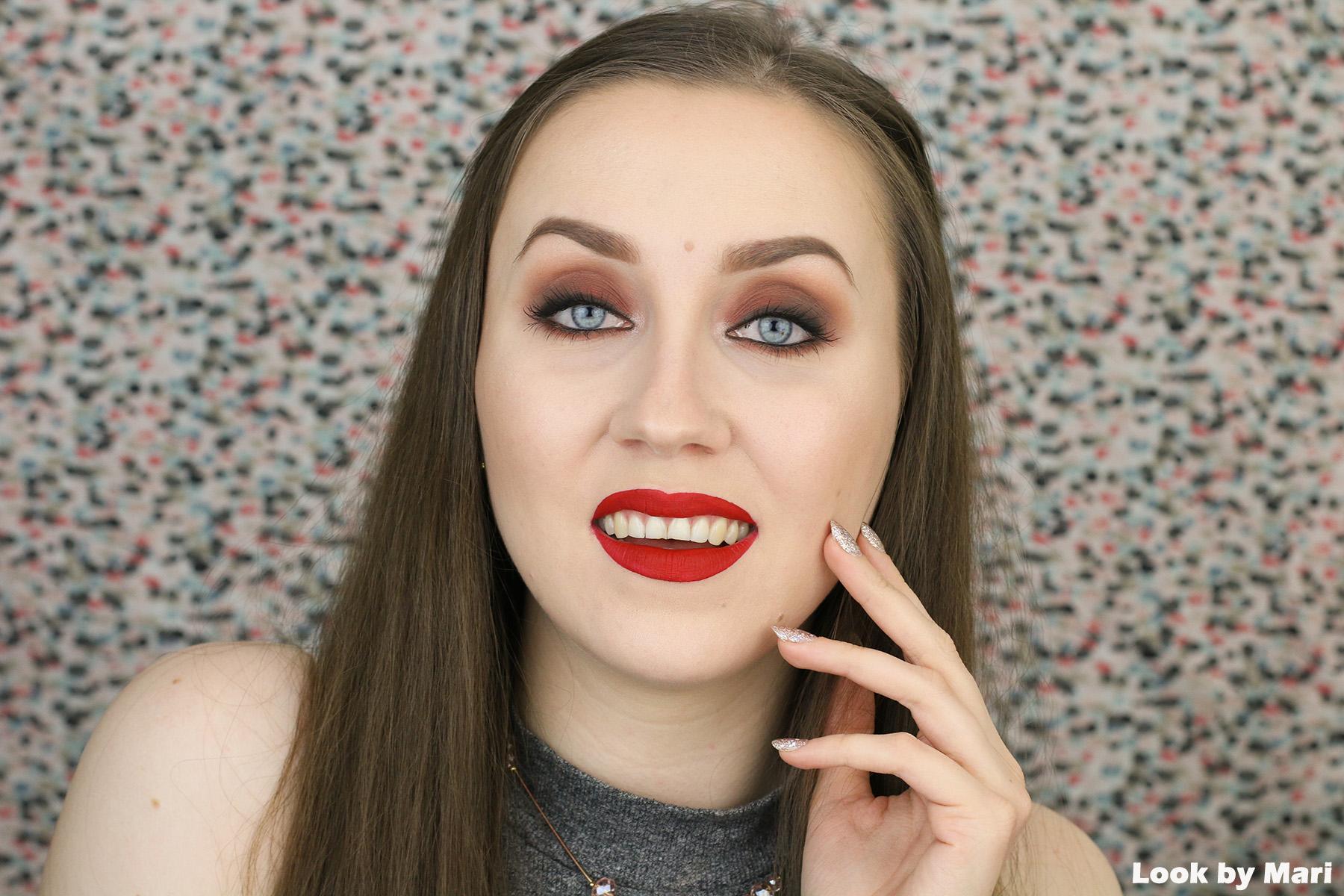 1 jeffree star redrum velour liquid lipstick swatch swatches-3