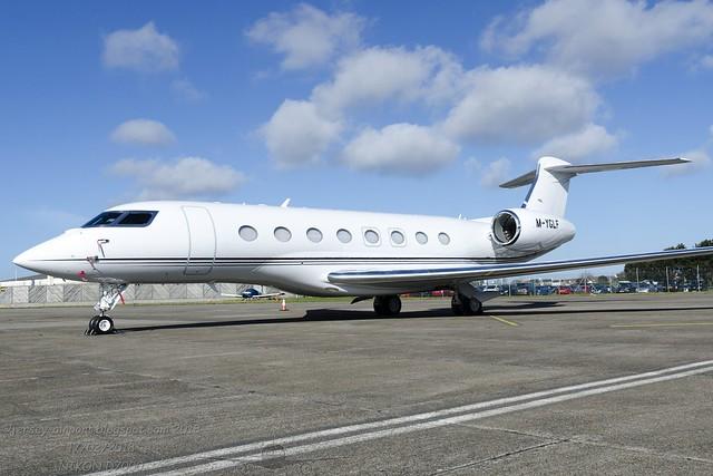 M-YGLF Gulfstream G650ER