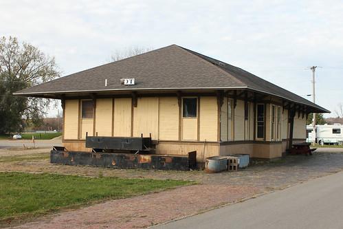 Milwaukee Road Railroad Depot - Gratiot, WI