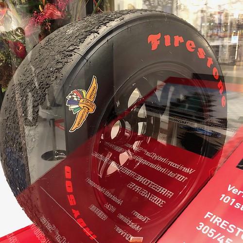 Takuma Sato Firestone Tire 2017 Indy500