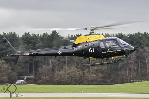 ZJ261 / Royal Air Force / Aerospatiale AS350 Squirrel HT1 | by Peter Reoch