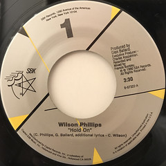 WILSON PHILLIPS:HOLD ON(LABEL SIDE-A)