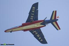 E94 6 F-TERH - E94 - Patrouille de France - French Air Force - Dassault-Dornier Alpha Jet E - RIAT 2015 Fairford - Steven Gray - IMG_2824