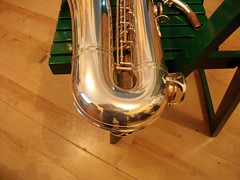 B&S Blue Label tenor sax - 5