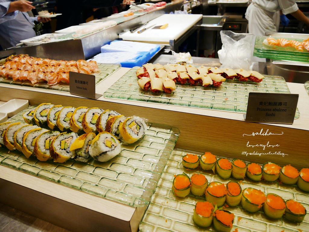 台北大安漢來海港餐廳-敦化店壽司日本料理吃到飽