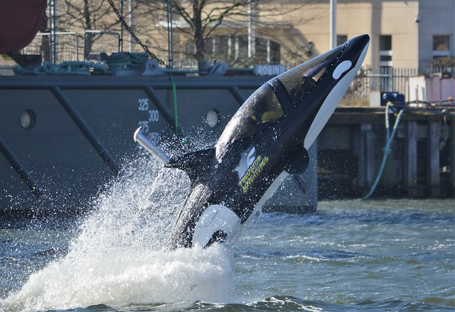 Seabreacher Killer Whale (50) @ Royal Victoria Dock 25-02-18