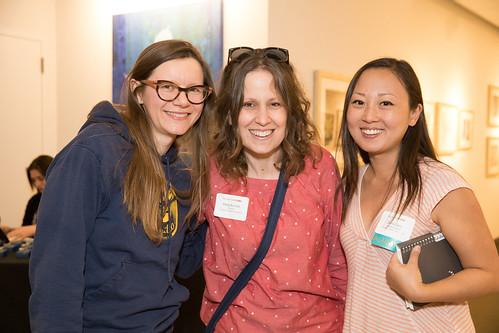 Guest, Maija Burnett and Diana Zeng '05