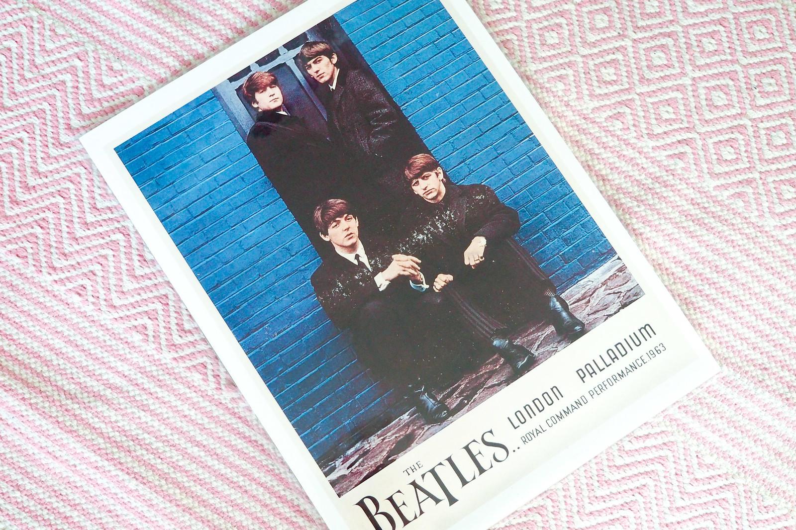 The Beatles sisustusjuliste