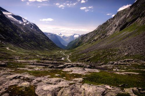 Gamle Stryfjellwegen, Norwegen