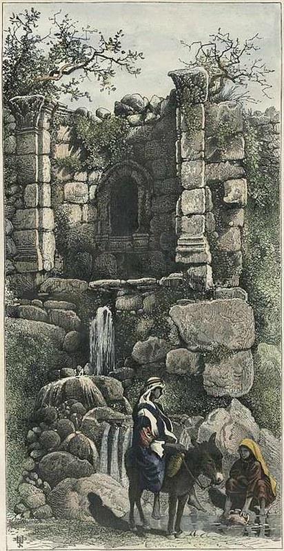 Fontain-of-St-Philip-Picturesque-Palestine-1875-rvl-1