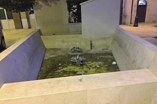 Noicattaro. problema villa e carmine front
