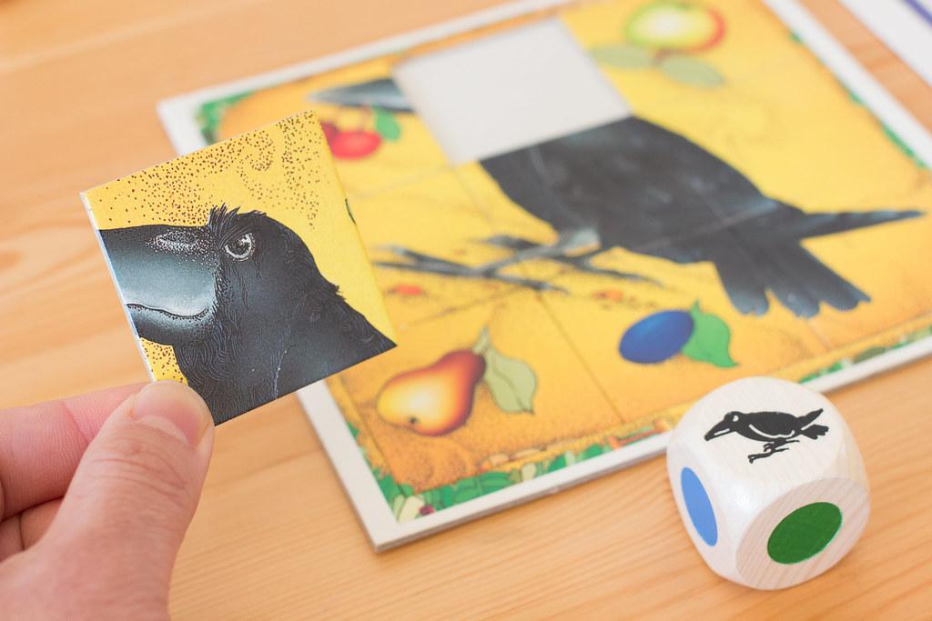 果樹園ゲーム カラス