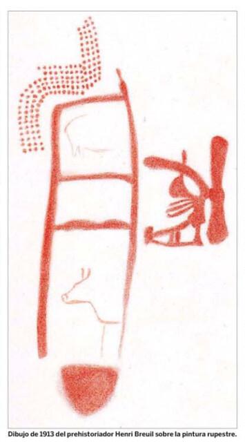 Pintura rupestre de la Cueva de La Pasiega