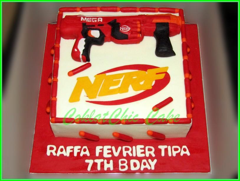 Cake Nerf RAFFA  22 cm