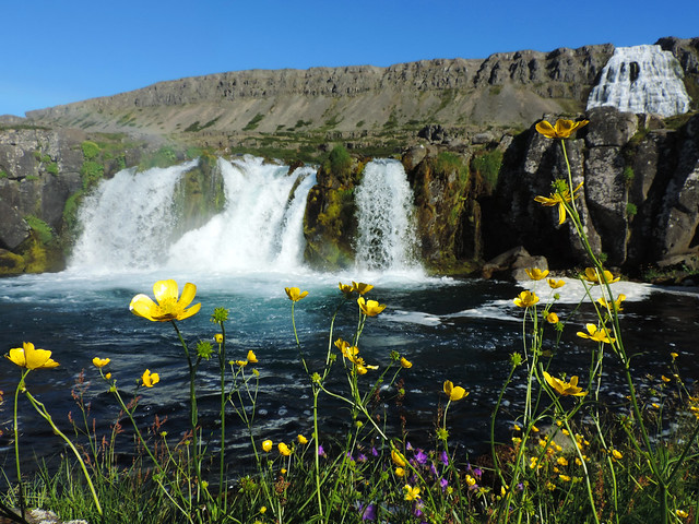 Dynjandi, Westfjords, Iceland