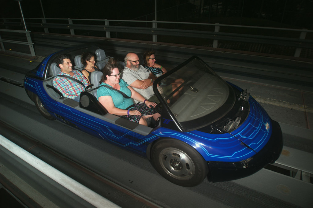 Melissa on Test Track