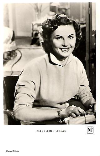 Madeleine Lebeau in Dupont Barbès (1951)