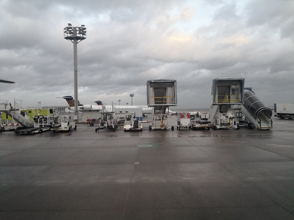 Regional Jet Parking