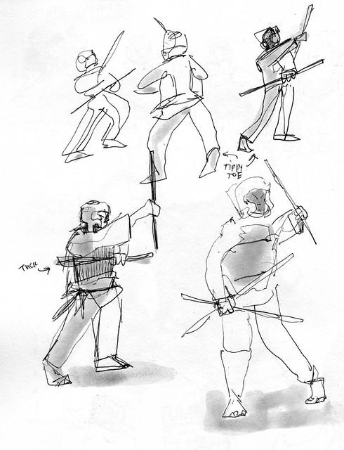 Sketchbook #112: Black Belt Training