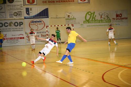 Fútbol Sala 3º Andaluza Pulidos Anabril y C.D. Dos Hermanas