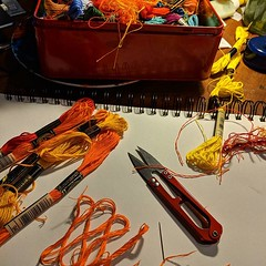 Tools. #embroiderydesign #embroideryart #stitchthis