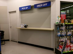 Pharmacy Pick-up and Drop-Off window(s)