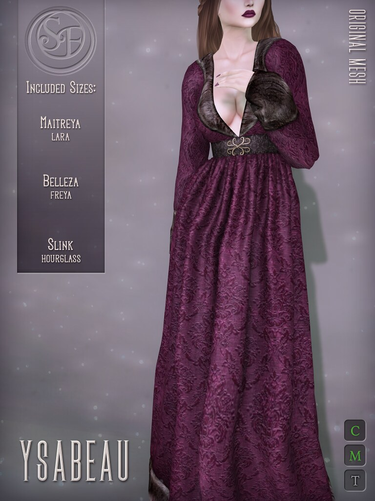 Senzafine . Ysabeau Gown