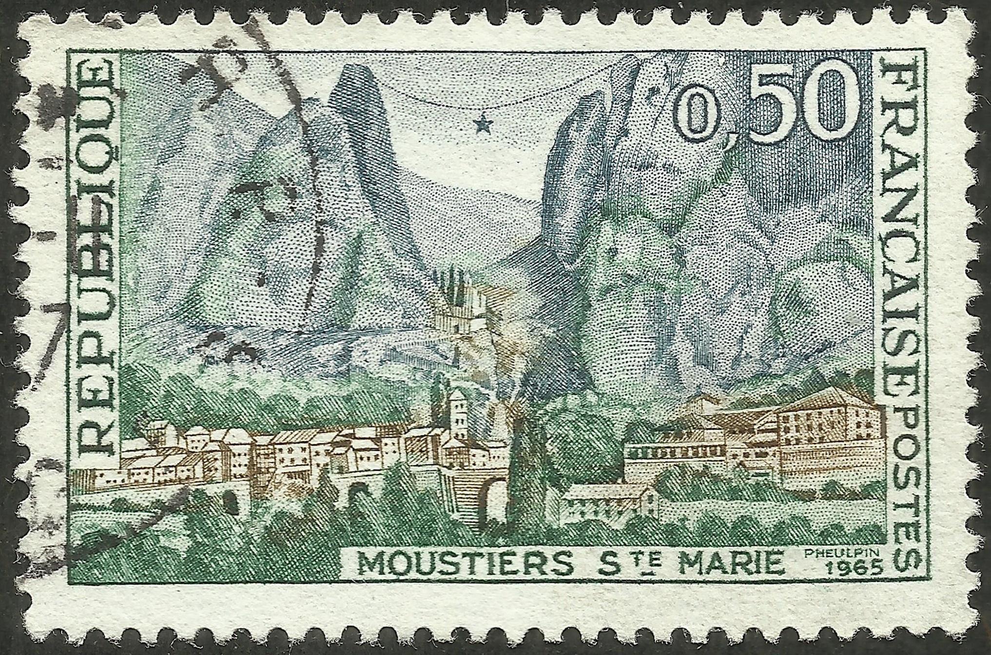 France - Scott #1126 (1965)