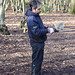 Tool cleaning in Coldfall Wood