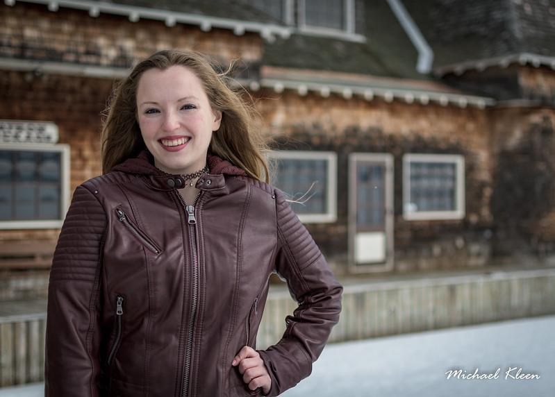 Bri O in Winter, Boldt Boat House