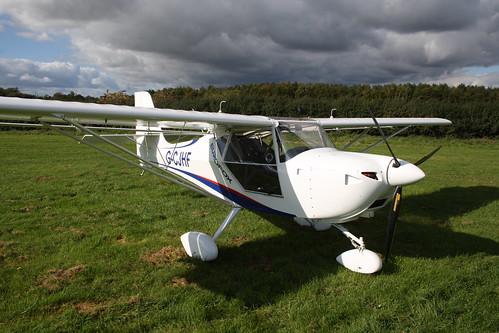 G-CJHF Aeropro Eurofox [LAA 376-15399] Popham 081017