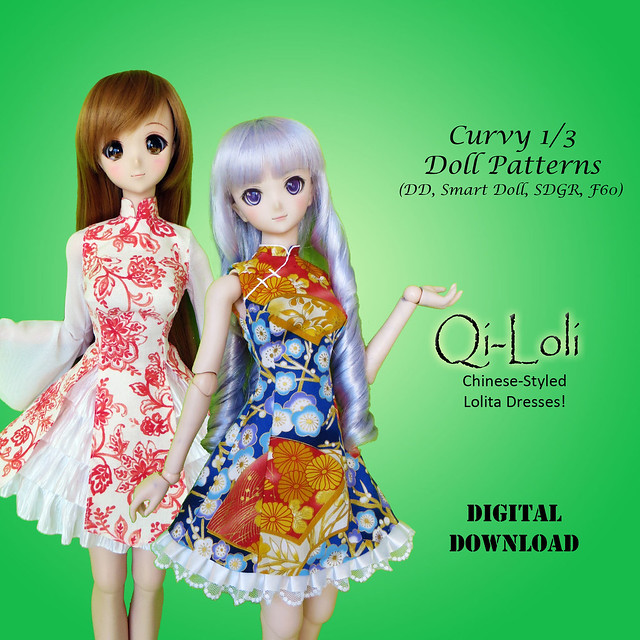 Qi Loli for Curvy 1/3 dolls!