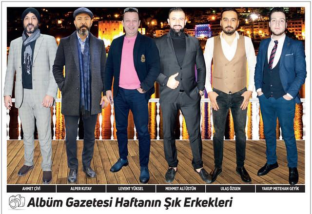 Ahmet Çivi, Alper Kutay, Levent Yüksel, Mehmet Ali Üstün, Ulaş Özgen, Yakup Metehan Geyik