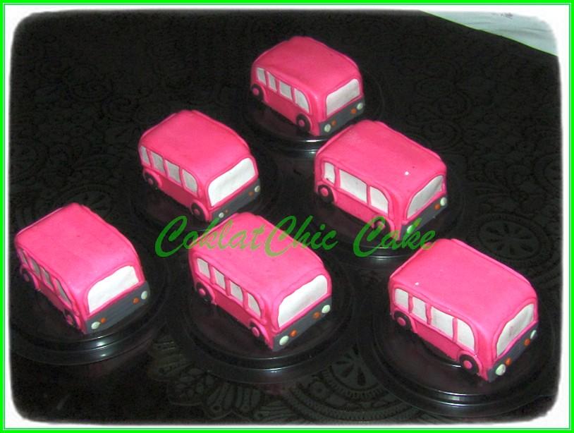 minicake Bus 7 cm