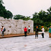 Torist wall scene. Guilin