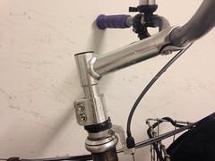 New stem setup