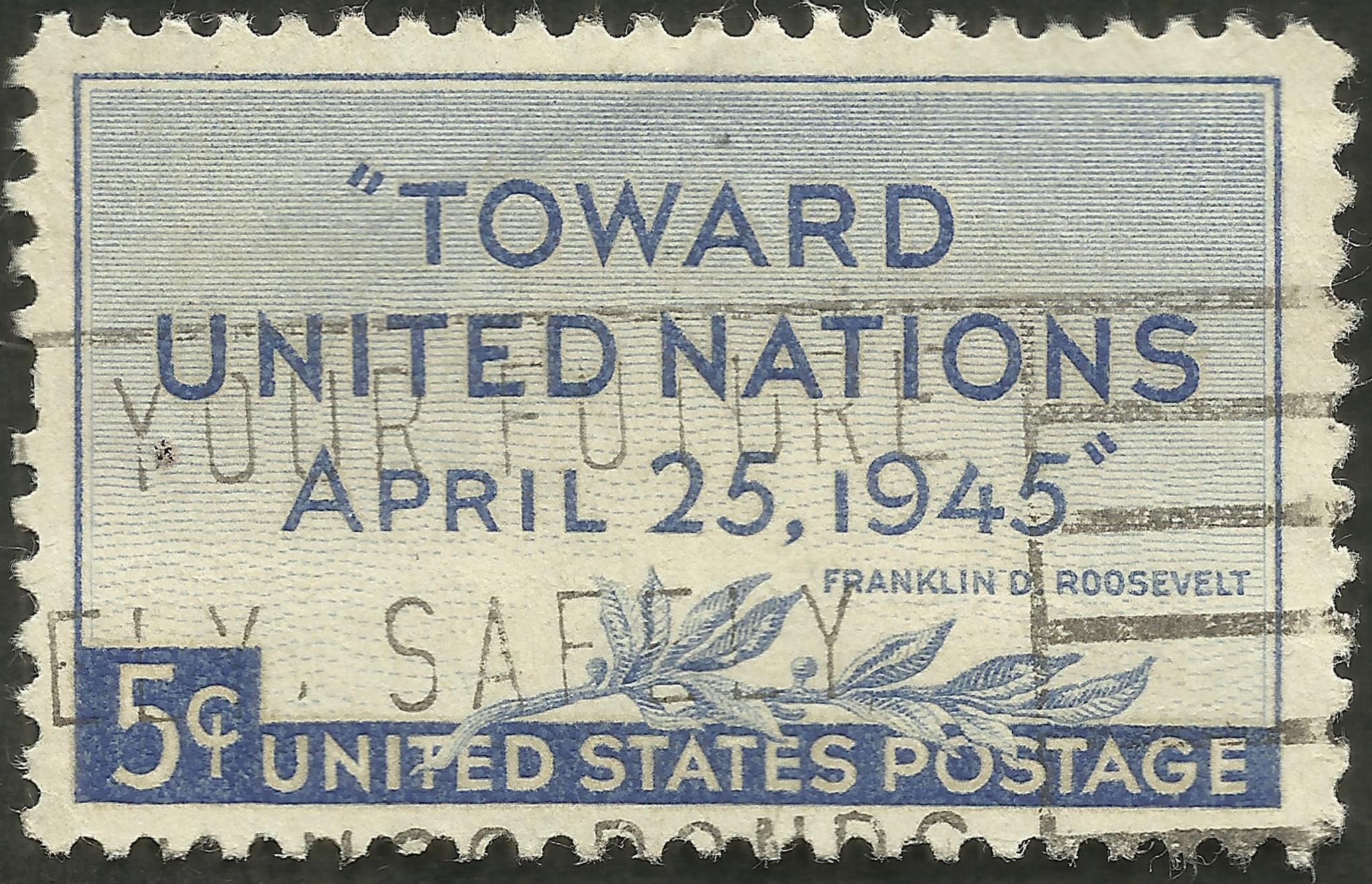 United States - Scott #928 (1945)