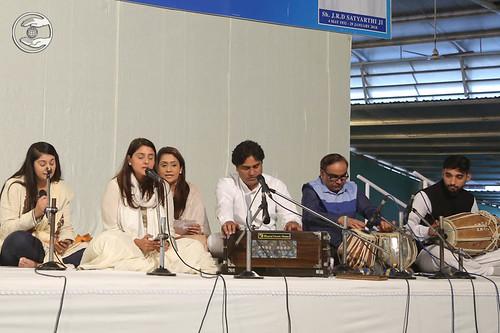 Devotional song by grand-daughters of Rev. J.R.D. Satyarthi Ji