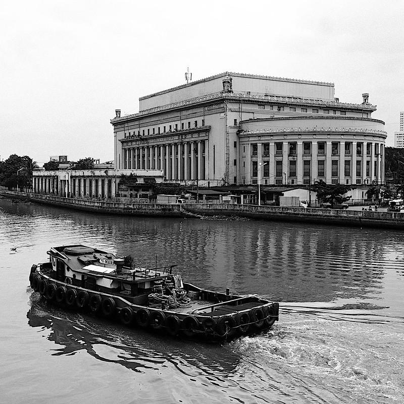 Manila Central Post Office by Benj Ramos