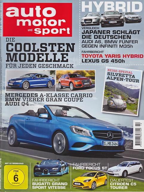 auto motor und sport 14/2012