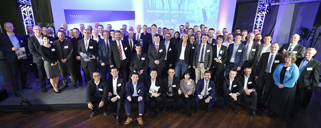 全球受邀獲獎國家在德國斯圖加特Mercedes-Benz 博物館舉辦Environmental Leadership Award (ELA)頒獎...