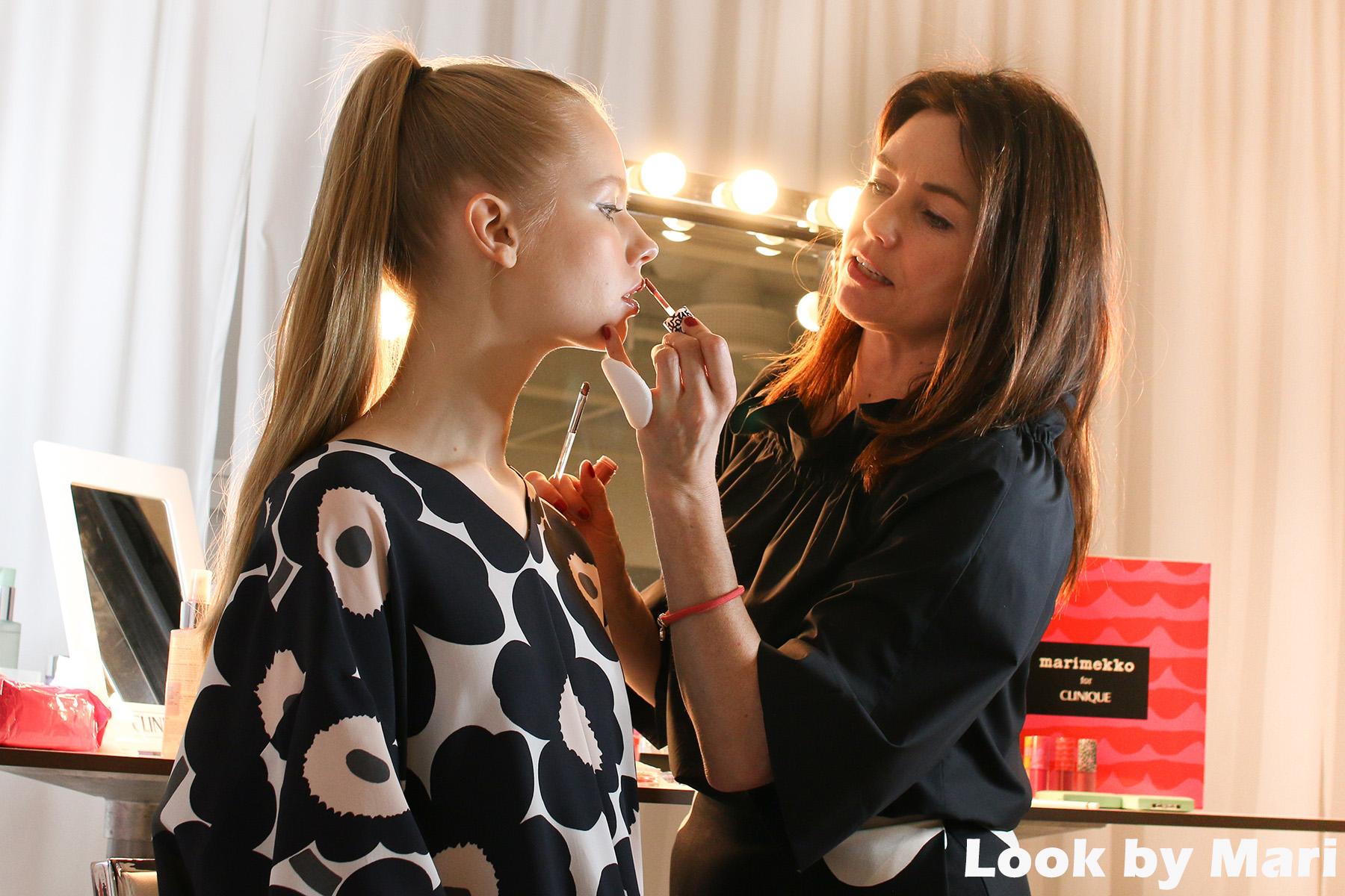 6 florrie white marimekko for clinique demo makeup helsinki-3