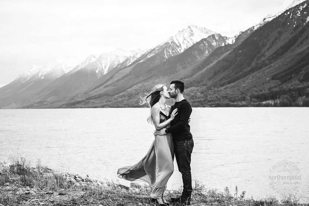 Engagement Session Valemount British Columbia Mountain Elopement Wedding