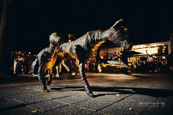 Garema Place Dog Sculptures