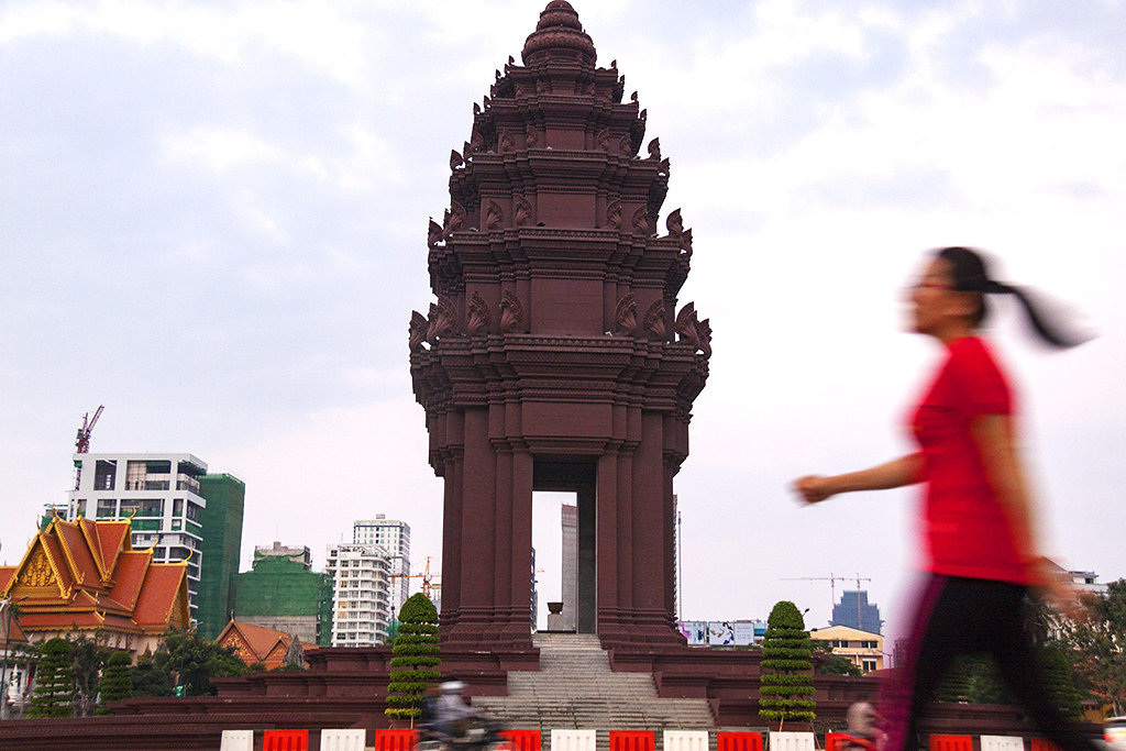 Independence Monument--Phnom Penh