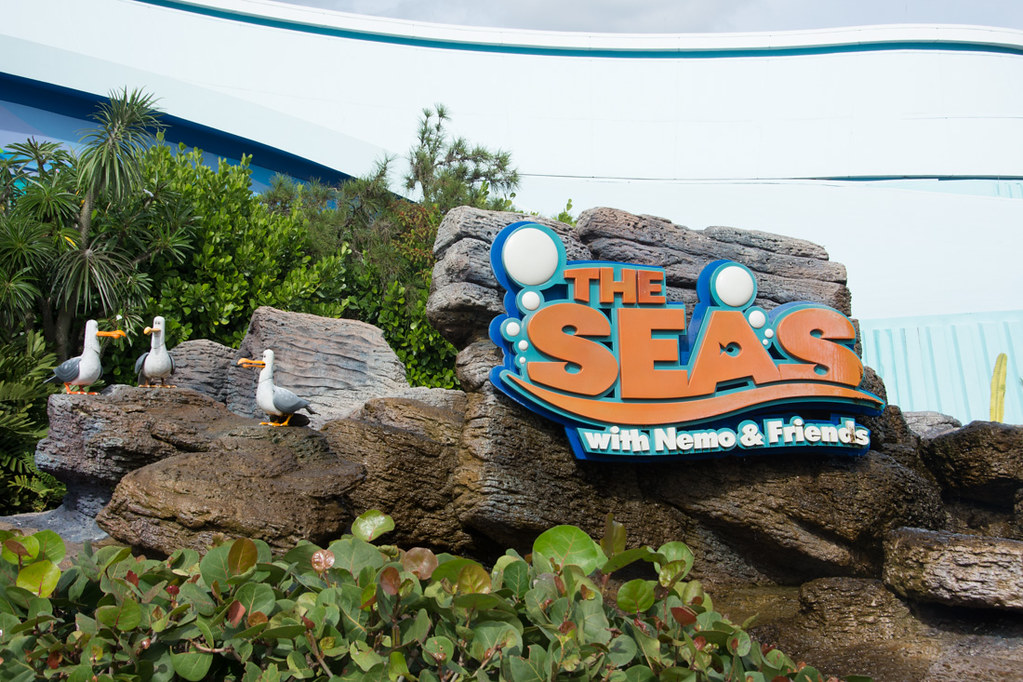 The Seas with Nemo and Friends Sign