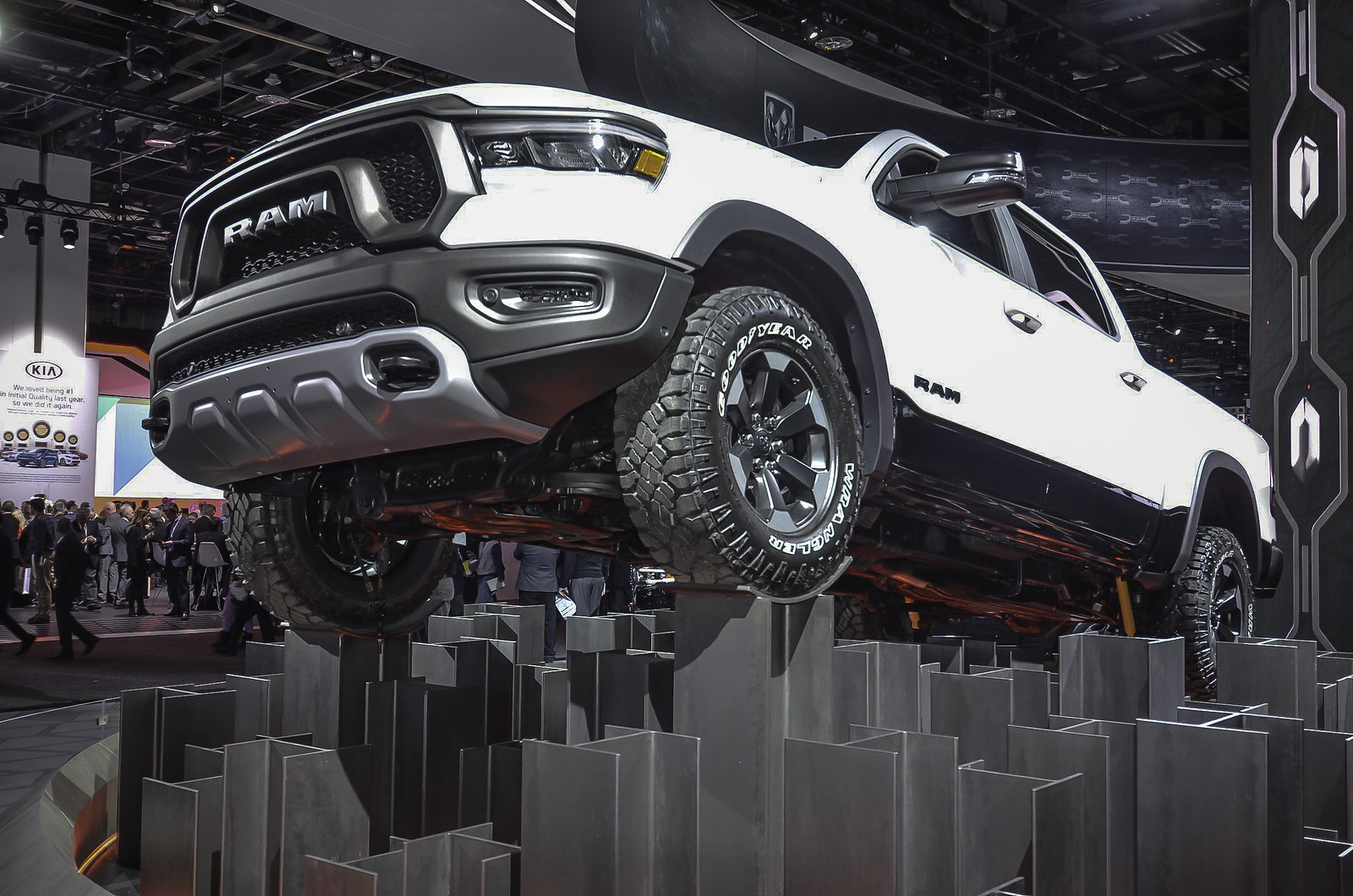 2019 Ram 1500 live photos: 2018 NAIAS