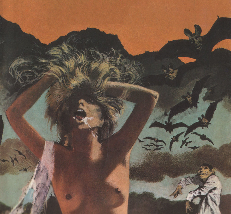 Karel Thole - Detail from Vampir Horror Roman - 023